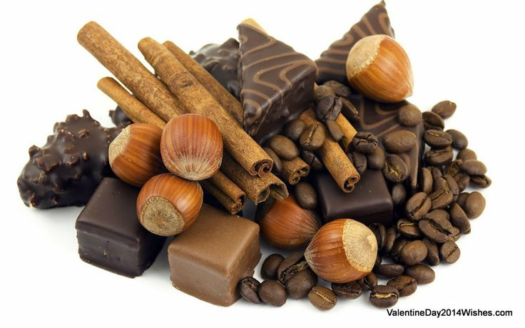 Chocolate Day Wallpaper HD - A Perfect Chocolate Ingredients [ValentineDay2014Wishes.com]