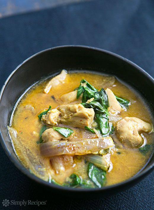 Coconut Curry, Chicken Recipes, Basil Chicken, Chicken Coconut ...