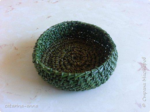 Поделка изделие Плетение иголки не поддаются Материал природный фото 1