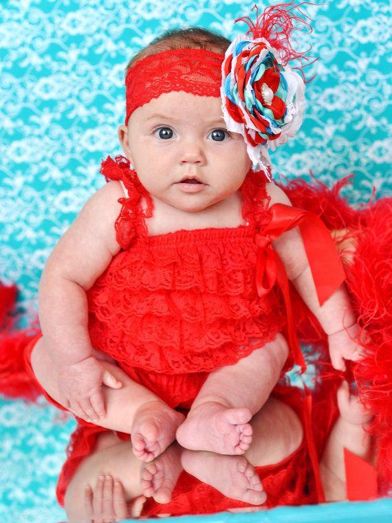 rojo mameluco del bebé del mameluco del bebé por SallyAnnaSunshines