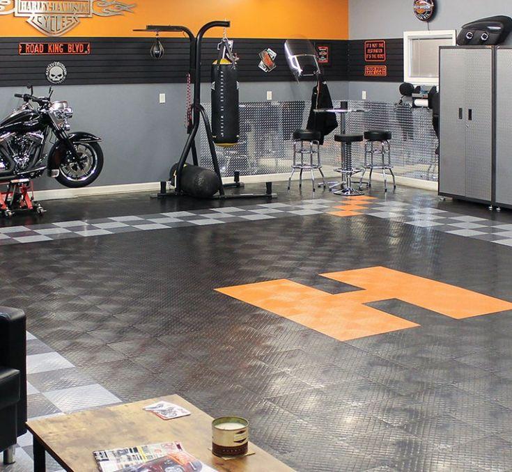 33+ Garage Flooring Ideas for Stylish Vehicle Storage