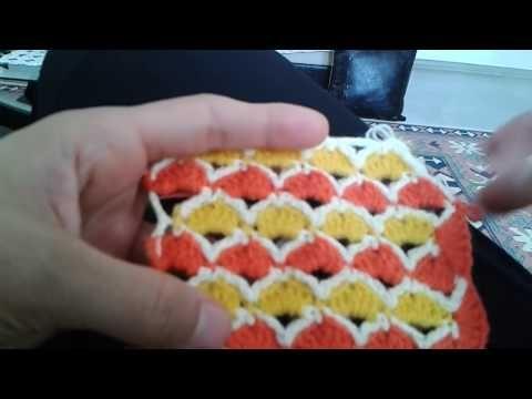 Bebek battaniyesi modeli yapımı videosu - YouTube