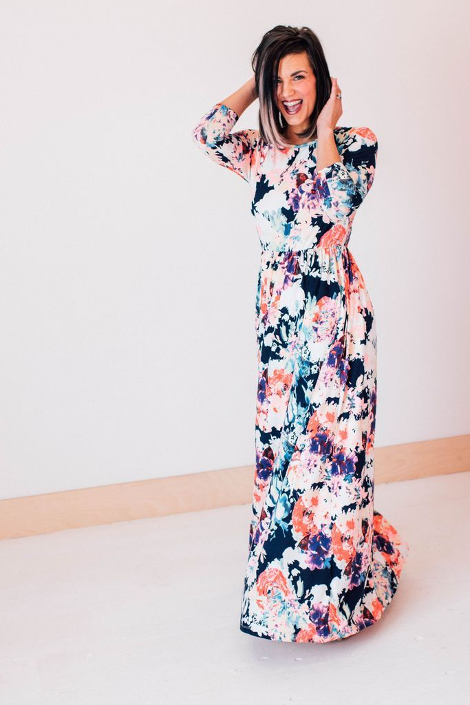 01743f54e2c60 All of Me Maxi – Tara Lynn's Boutique | My Style in 2019 | Floral ...