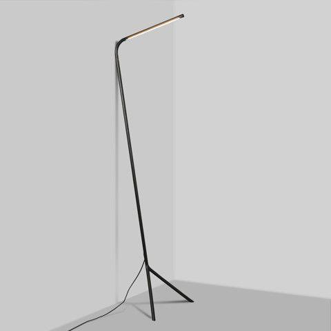 Vloerlamp Lazy Lamp zwart - Kantoorverlichting - Verlichting per ruimte - QAZQA.com € 299,-