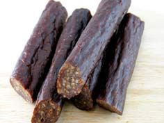 Best Beef Sticks Recipe:  2 pounds of beef (or any meat type) 1 cup of water 1/4 teaspoon of garlic powder 1/4 teaspoon of onion powder 1 teaspoon of liquid smoke 2 teaspoon of mustard seed 4 teaspoons of curing salt
