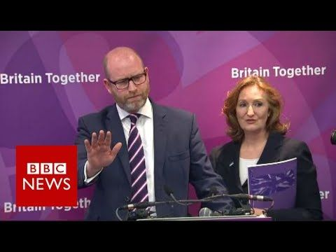 Journalists heckled at UKIP manifesto launch - BBC News