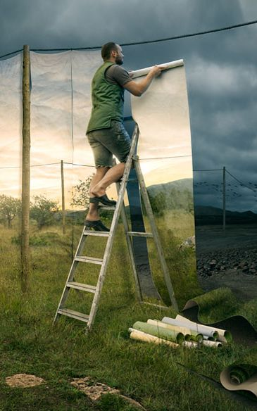 How to create your own landscape: The pictures of Erik Johansson. http://www.travelbook.de/welt/Erik-Johansson-Surreale-Landschaften-538700.html