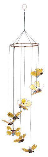 Red Carpet Studios Mosaic Spiral Suncatcher Bumble Bee