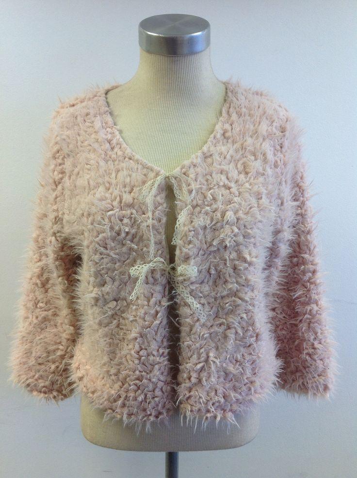 Faux fur pink jacket at #Nicci