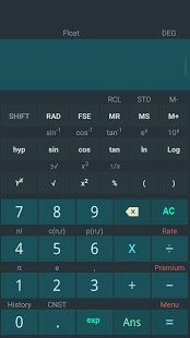 The Best powerful Android Scientific calculator for free download.