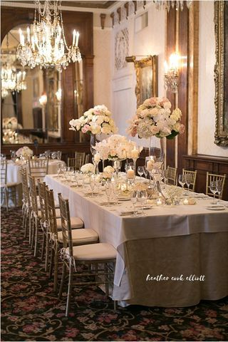 Vintage inspired wedding at the Pfister Hotel. Downtown Milwaukee Weddings.