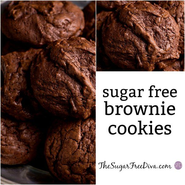 Say Hello To These Sugar Free Brownie Cookies You Will Probably