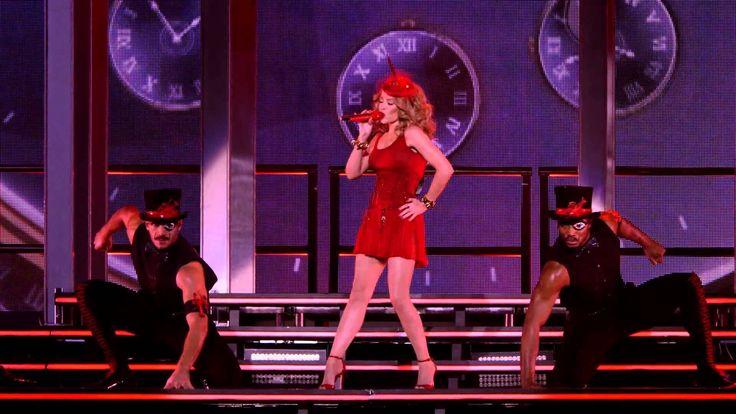 """Muestra del concierto de Kylie Minogue """"Kiss Me Once Tour"""" a la venta desde el 23 de marzo de 2015 en DVD y Blu-ray."""