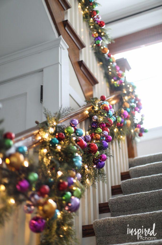 rainbow christmas tree decorations garland christmasdecorations rainbow