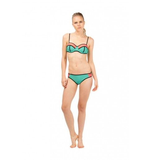 Protest Splash Under Wire Bikini Minty