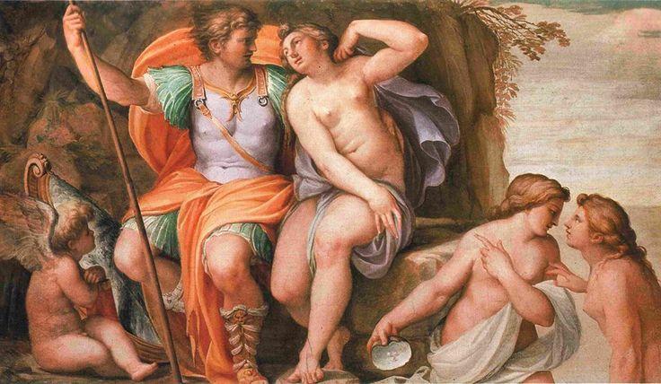 Venere e Marte di Agostino Carracci