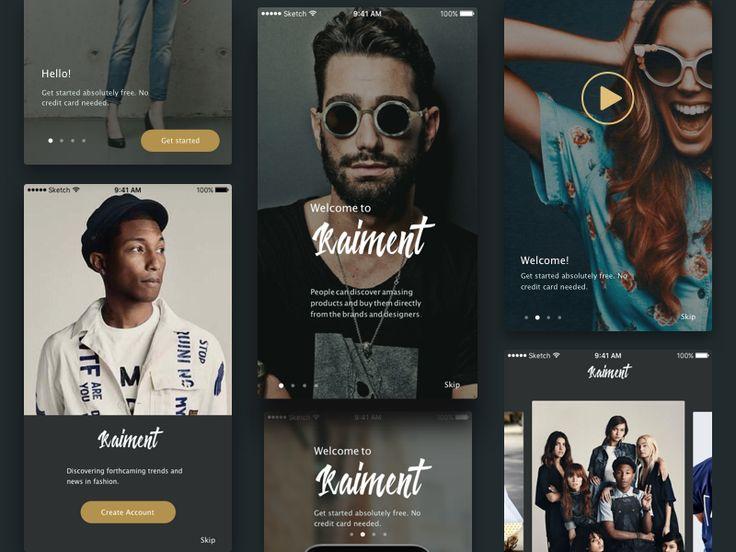E-commerce UI Kit by Marina Dmitruk
