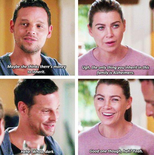 Grey's Anatomy - Alex & Meredith