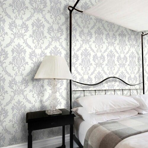 Wallpaper For One Wall 66 Best Room Design Images On Pinterest  34 Beds Queen Beds And