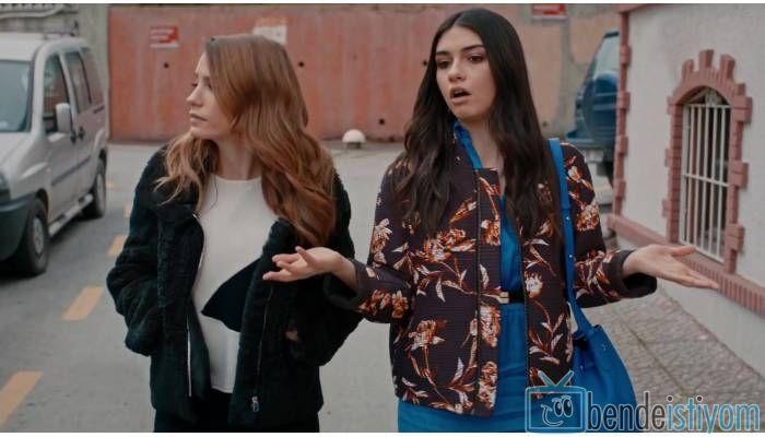 Star TV yayınlanan Medcezir dizisinde  Eylül Buluter karakterini canlandıran Hazar Ergüclü'nün,67. bölümünde giydiği çiçek desenli ceket