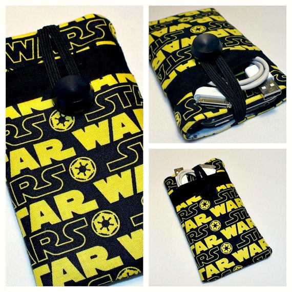 Free Shipping STAR WARS iPhone 5 Cover by VintageFabricFinds, $18.00