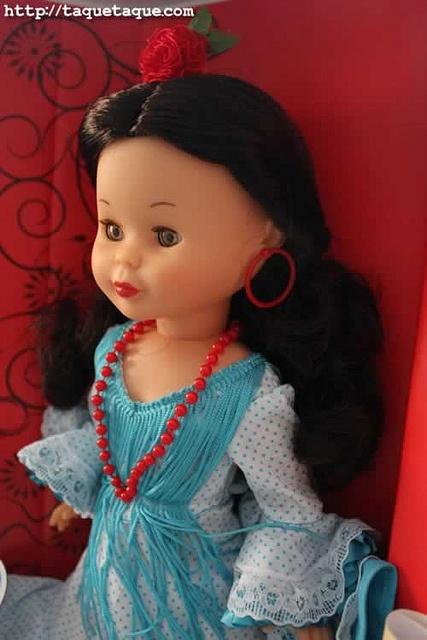 Más tamaños   my 'Flamenca' Nancy doll - 2012, via Flickr.