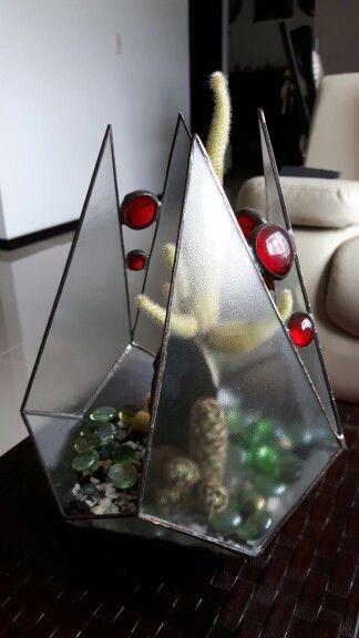 Terrarium en vitral