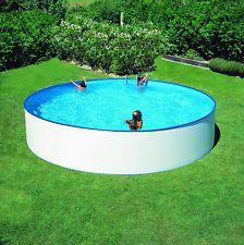 Pool Schwimmbecken Rund Rundpool 4,20 x 1,20m