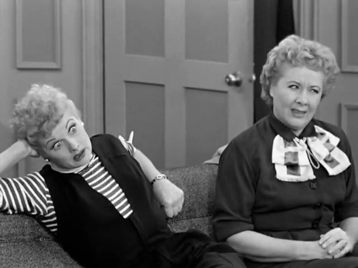 Lucille Ball And Vivian Vance In The 1955 Episode Of I Love Lucy Led Learns To Drive