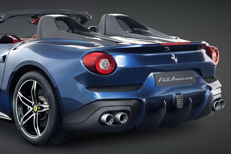 New Ferrari F60 America is a $2.5 Million Roofless F12berlinetta for US