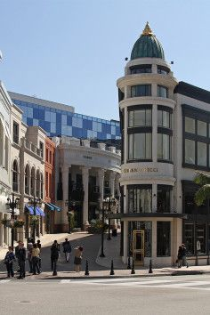 Rodeo Drive is a world renowned boulevard in Los Angeles, California.