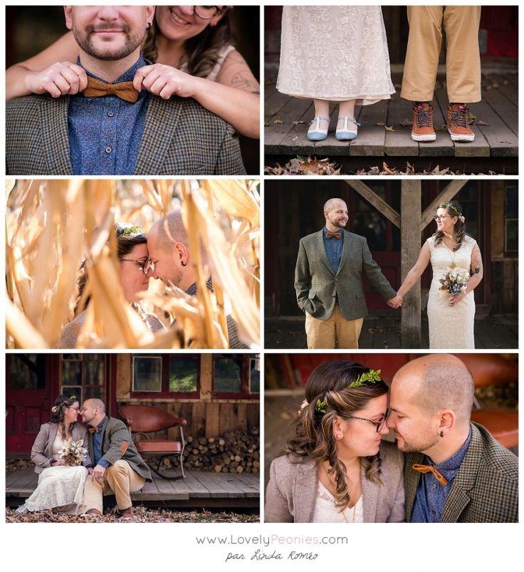 Lovely Peonies - Un mariage rustique dans une grange en Lanaudière