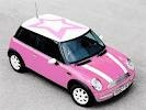Double love: pink AND Mini Cooper!