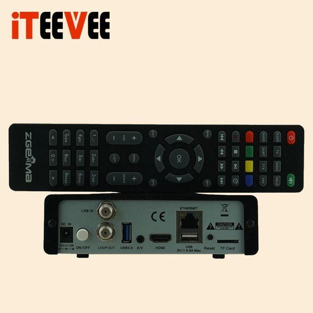 ZGEMMA H9S DVB-S2X Multistream 4K UHD Satellite Receiver