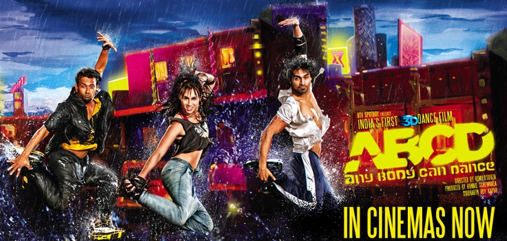 India's first 3D dance movie is in cinemas now.
