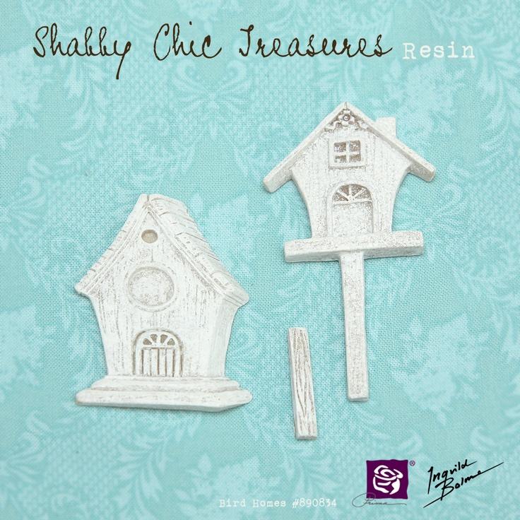 Shabby Chic Resin Treasures - Birdhomes