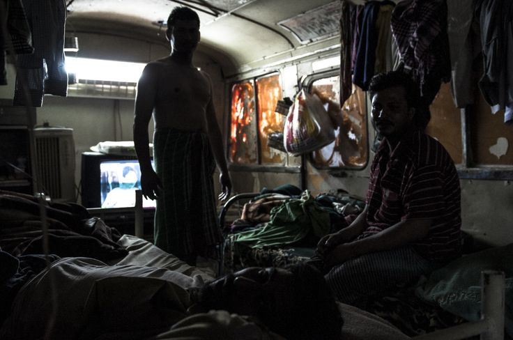 migrant workers living conditions - Gulf Region - Photo by Stefanistan