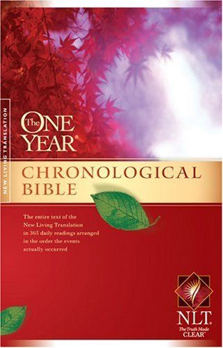 The One Year Chronological #Bible NLT (One Year #Bible: Nlt)/