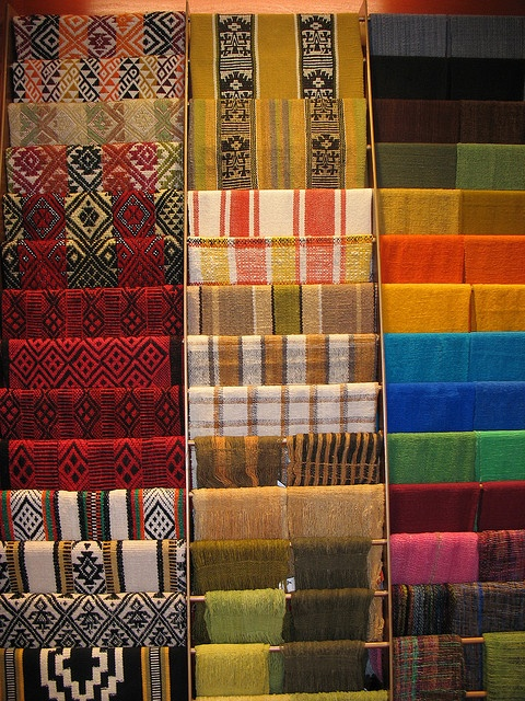 Mapuche Textiles by Jennabullis, via Flickr