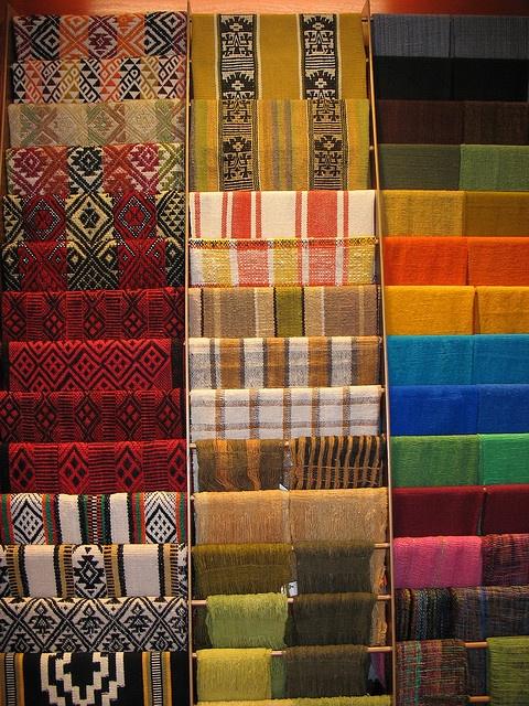 Mapuche Textiles by Jennabullis, via Flickr