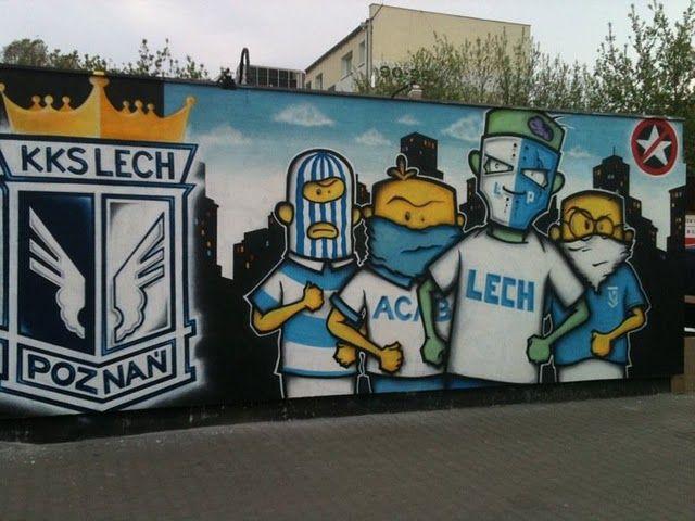 Lech Poznan graffiti