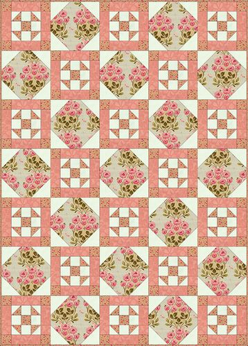 Free Quilt Patterns For Large Prints : Quilt Patterns For Large Prints - WoodWorking Projects & Plans