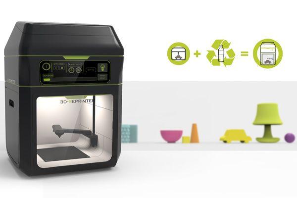 Imprimer en 3D avec des bouteilles en plastique, c'est écologique