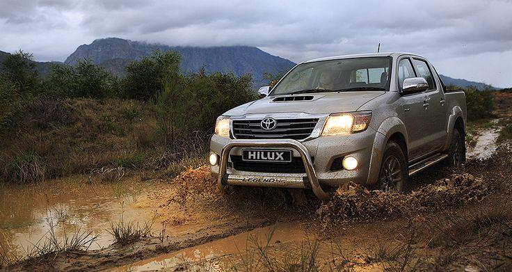 Hard-wearing, Hard-working and Adventure loving. #Toyota #Hilux #Legend45