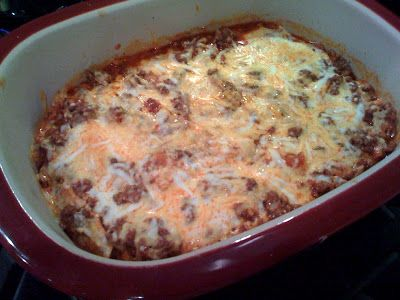 Enchilada Casserole in Pampered Chef Deep Covered Baker                                                                                                                                                                                 More