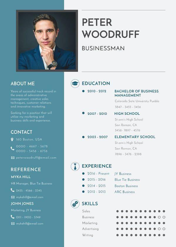 mac resume template