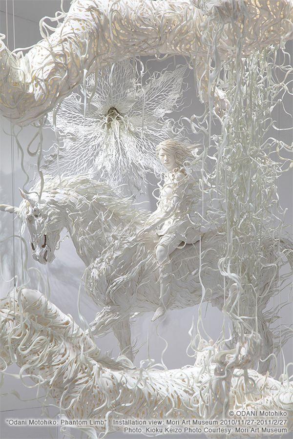 Contemporary Sculptures of Japanese Artist Odani Motohiko | Hi-Fructose Magazine