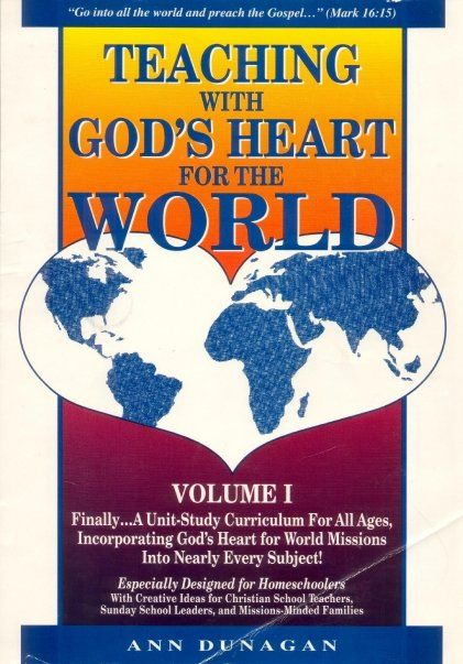 Teaching with God's Heart for the World... God's heart for world missions