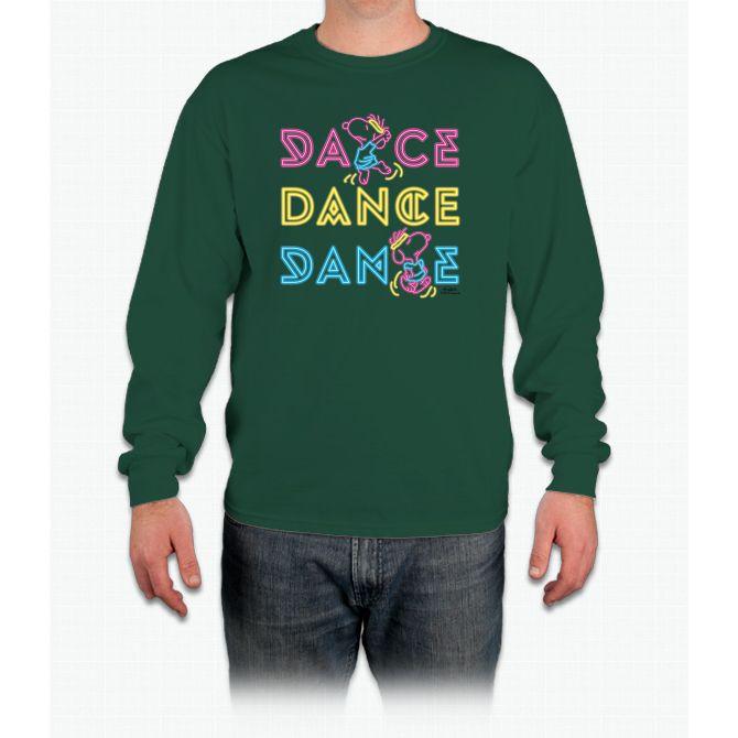 Peanuts Dance Snoopy Long Sleeve T-Shirt