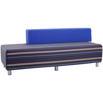 This bench lounge has been customised to our clients specifications. If you would like to design your own seating requirements discuss your ideas with one of the sales team and we can make it happen.